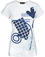 Official Hed Kandi Women's White T-Shirt by Worn