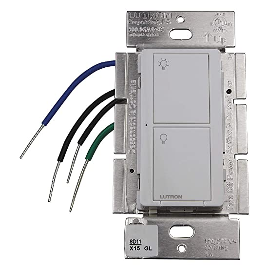 61vtEfwHJ9L._SX554_ 5 amp max 2 button rf switch 120 277v white lutron pd 5s dv  at crackthecode.co