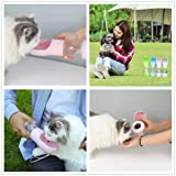 Dog Travel Water Bottle, Portable Water/Food Bottle Dispenser for Dogs and Cats, Pet Water Food Cup/Bowl for Walking Traveling Hiking