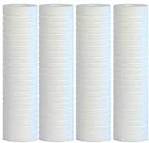 Compatible for WHKF-GD05, FXWTC, AP110 Grooved Filters, KW2510G 5 Micron Dirt Sediment Water Filter Cartridge