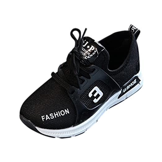 d7e158e4f74b0 Baby Shoes for 1-6 Years Old,Boy Girl Kid Fashion Lightweight Breathable  Mesh Sneakers Sport Running Casual Shoes