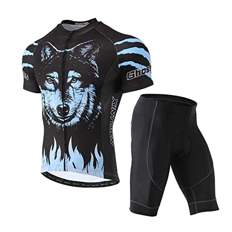 Unkoo Camiseta de manga corta Ciclismo Camiseta de verano para ...