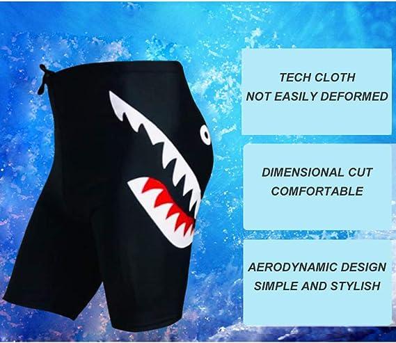 Pantalones De Playa De Secado R/ápido 4XL Pantalones Cortos De Spandex De Nylon Transpirables con Cord/ón para Hombres Surf Trajes De Ba/ño para Buceo Deeabo Ba/ñador con Estampado De Tiburones