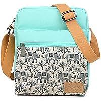 Small Crossbody Bag Purse Canvas Messenger Bag Shoulder Bag for Girls and Women