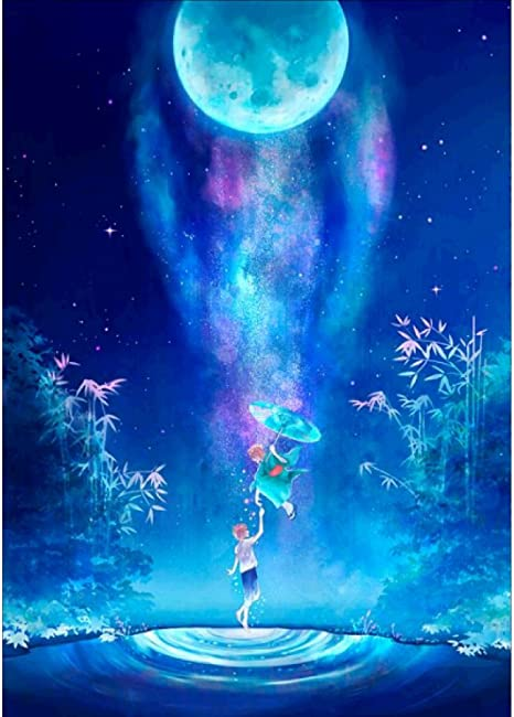 Amazon Com Norbi Diamond Painting Galaxy Diy 5d By Number Kits Crystal Rhinestone Embroidery Paintings Pictures Wall Art Decor Home For Kids Adult Beginners
