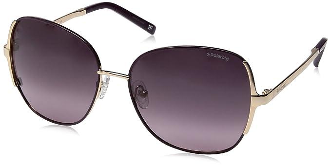 d999df34526 Amazon.com  Polaroid Sunglasses Women s Pld4001s Polarized Round ...