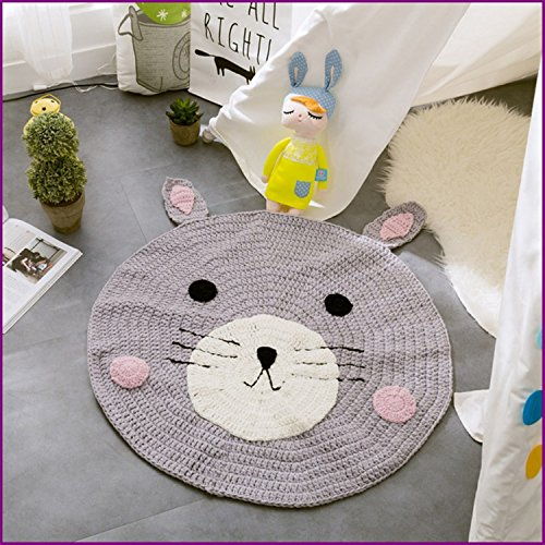 Bear Handmade Nordic Carpets Carpet Kids' Room Game Pad Coffee Table Area Rug Children Play Floor Mat Cute by Floor Games