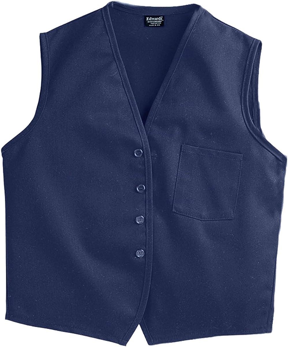 Ed Garments Unisex Apron Vest With Breast Pocket