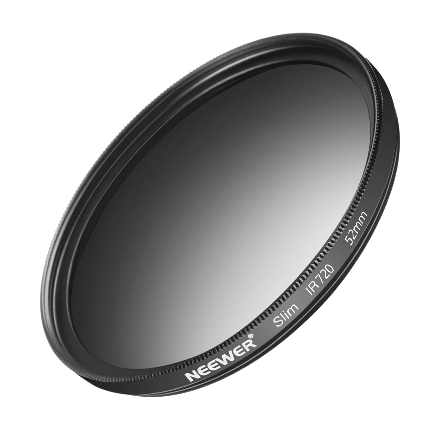 Neewer 52MM IR720 Infrared X-Ray Filter for Nikon D3300 D3200 D3100 D3000 D5300 D5200 D5100 D5000 D7000 D7100 DSLR Camera, Made of HD Optical Glass and Aluminum Alloy Frame by Neewer