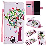 Galaxy S8 Plus Phone Case,XYX [Cats and tree] - [Kickstand][Card Slot] Fashion PU Leather Magnet Wallet Flip Case Cover for Samsung Galaxy S8 Plus