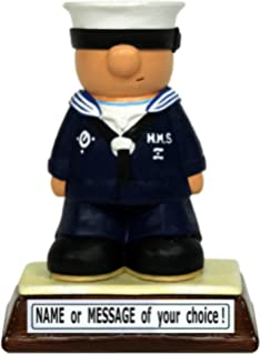 personalised royal navy sailor the perfect present gift for that special mariner cadet