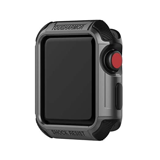 Amazon.com: Case for Apple Watch Series 3 42mm, 2 in 1 ...