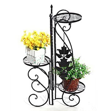 etagere jardin metal pot porte fleurs plantes. Black Bedroom Furniture Sets. Home Design Ideas