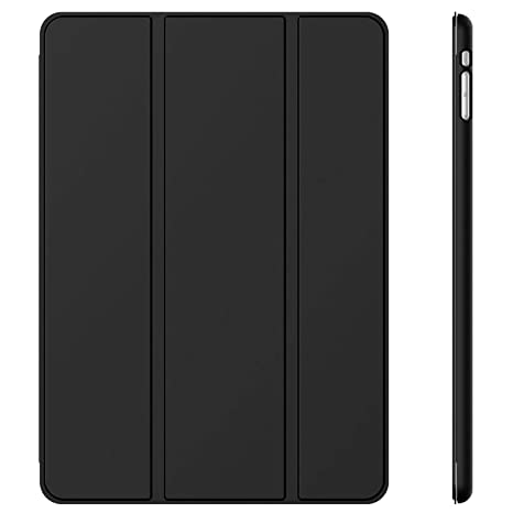 JETechà Gold 2 Serial Apple iPad Mini and the New iPad Mini 2 with Retina Display (2nd Generation) Slim-Fit Folio Smart Case Cover with Auto Sleep/Wake Feature,Black Touch Screen Tablet Bags &  at amazon