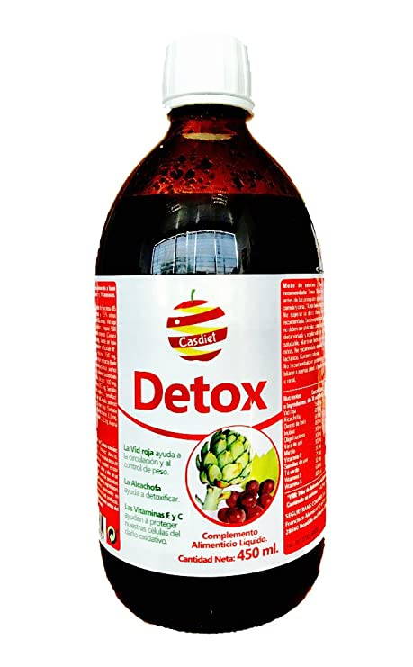 DETOX 450 ml CASDIET (Jarabe drenante y circulatorio)