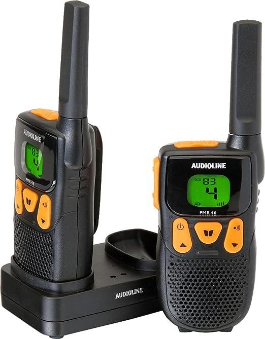 Audioline Power Pmr 46 Funkgeräte Headset Gürtelclips Bedienungsanleitung Heimkino Tv Video
