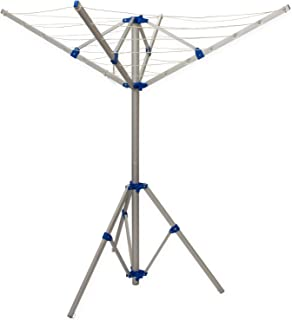 Argos Value Range 30m 3 Arm Outdoor Rotary Clothes Airer Amazon Co