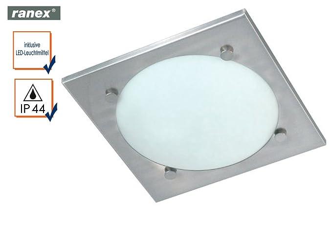 Plafoniere Per Esterno Led Ranex : Bagno lampada da soffitto vado con led cm rotondo e
