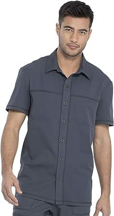 Dickies Dynamix DK820 Camisa de cuello frontal con botones para hombre: Amazon.es: Ropa y accesorios