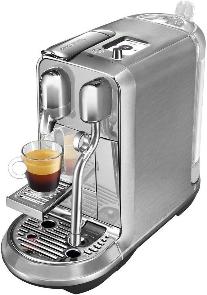 Cafeteira Nespresso Creatista Plus Cromada para Café Espresso