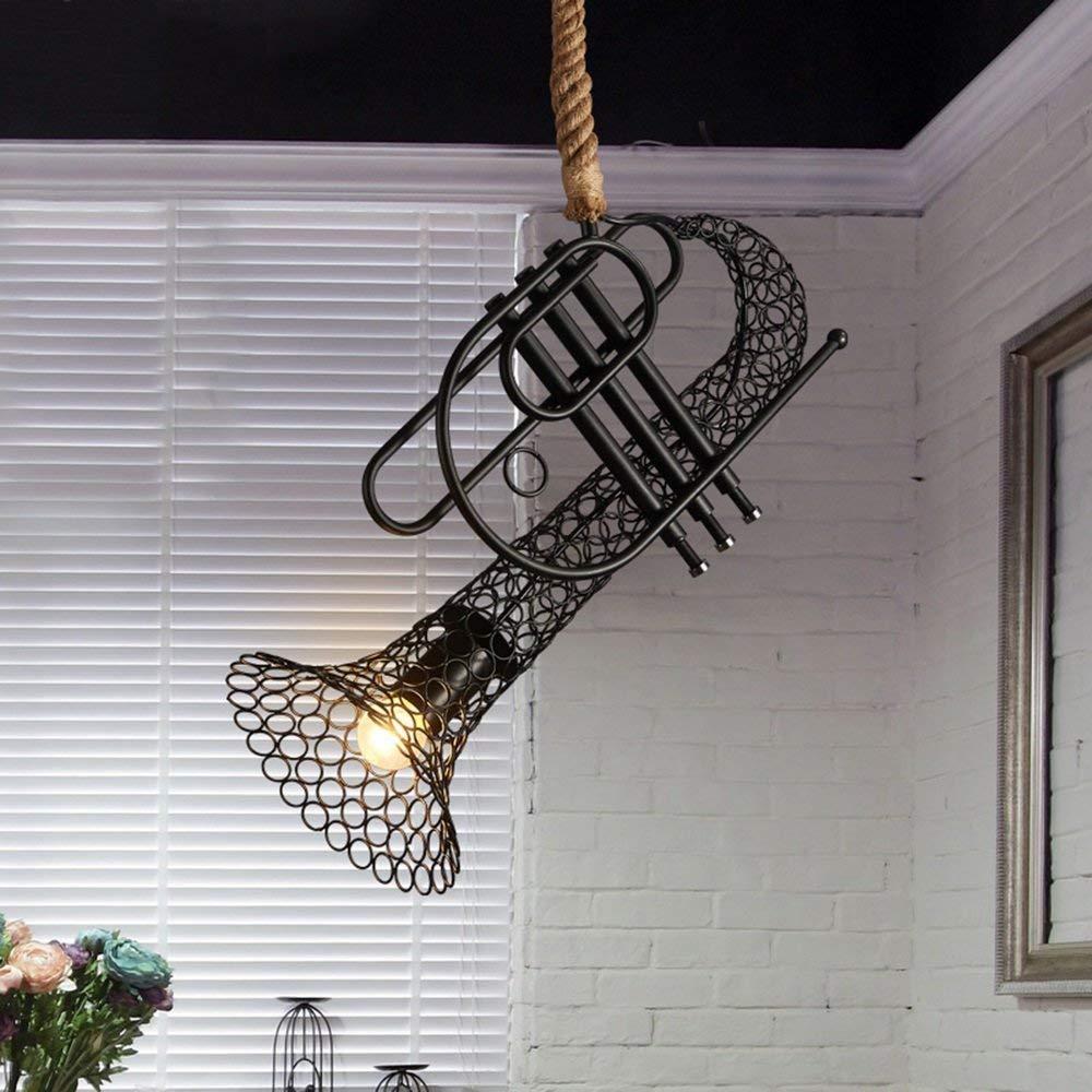 BCX Leuchter - industrieller Wind-Retro- Leuchter kreativer kreativer Eisen-Stab-Restaurant-Leuchter-einzelner Hauptmodus der Beleuchtung