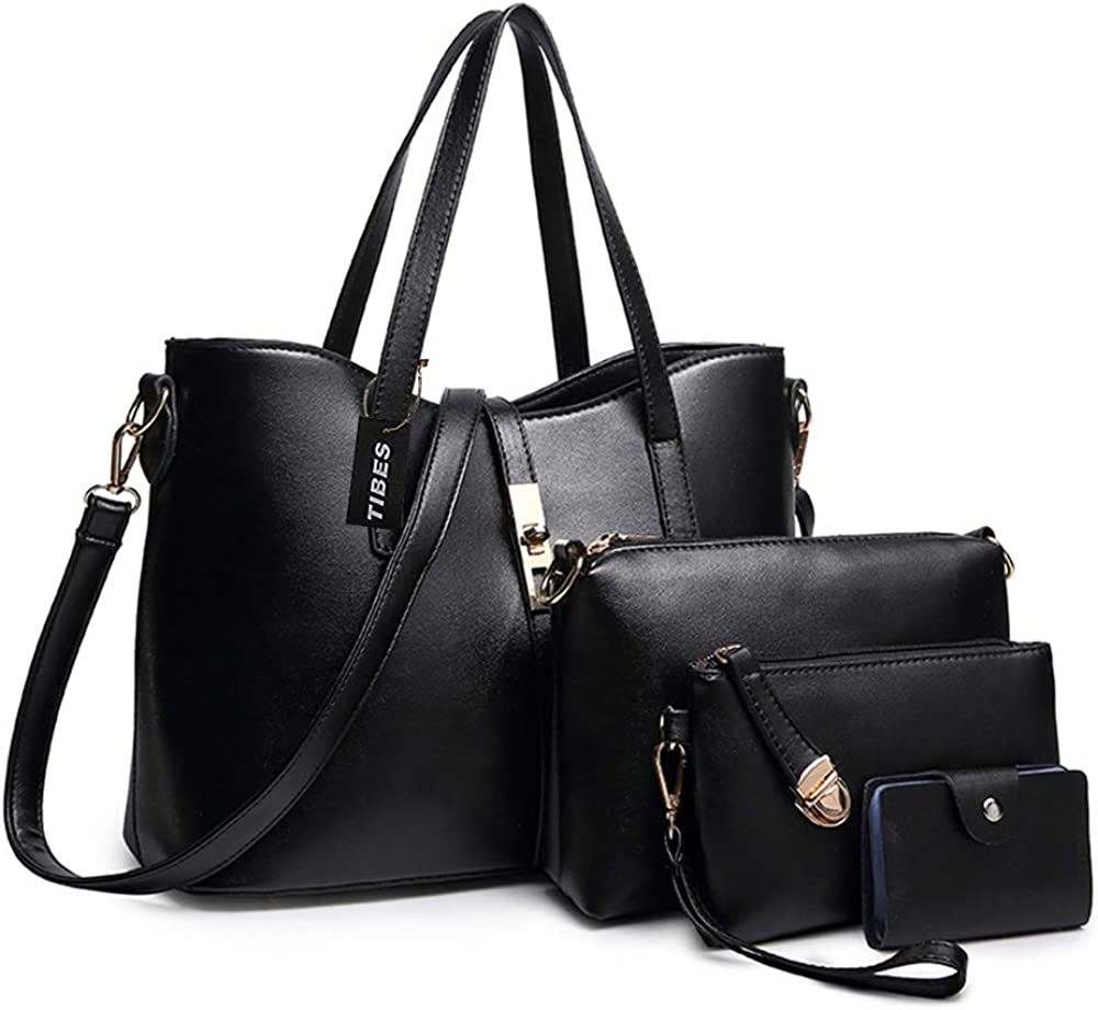TIBES Women's PU Leather...
