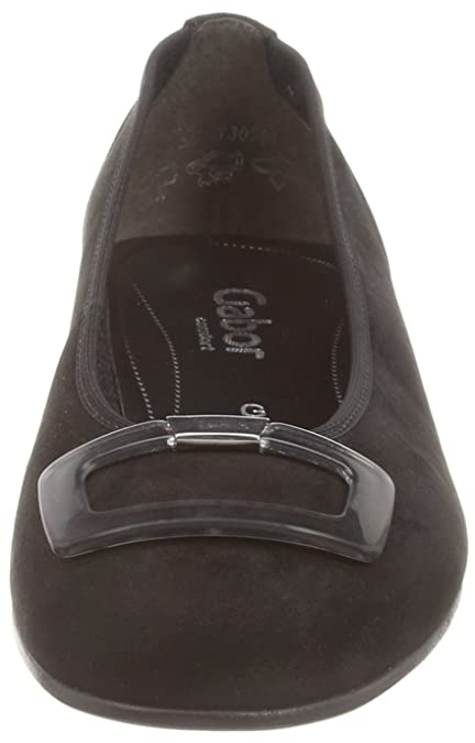 2eb22ef9a4 Gabor Frenzy Womens Dress Casual Shoes 9 Black Suede: Amazon.co.uk: Shoes &  Bags