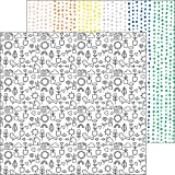 Dream On Double-Sided Cardstock 12''X12''-Trance - Case Pack of 25