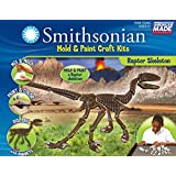 Smithsonian Raptor Skeleton PerfectCast Mold and Paint Craft Kit
