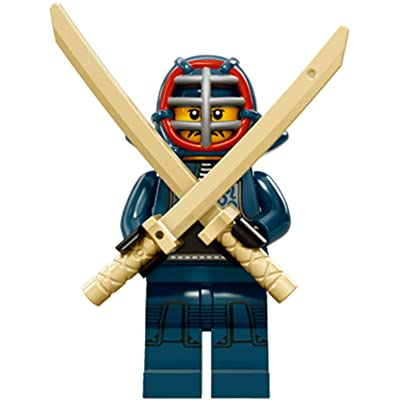 LEGO Series 15 Collectible Minifigure 71011 - Kendo Fighter: Toys & Games