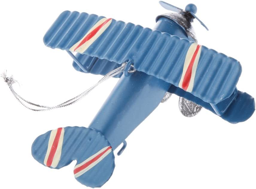 Dailymall Vintage Aircraft Vehicle Model Pendent For Home Cafe Bar Table Decoration 2x
