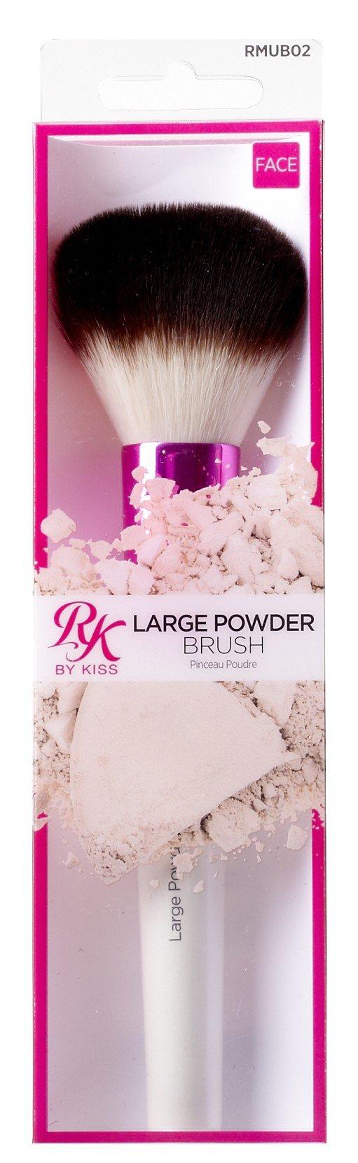 Kiss Ruby Kisses Make-Up Brush Powder Large (6 Pack)