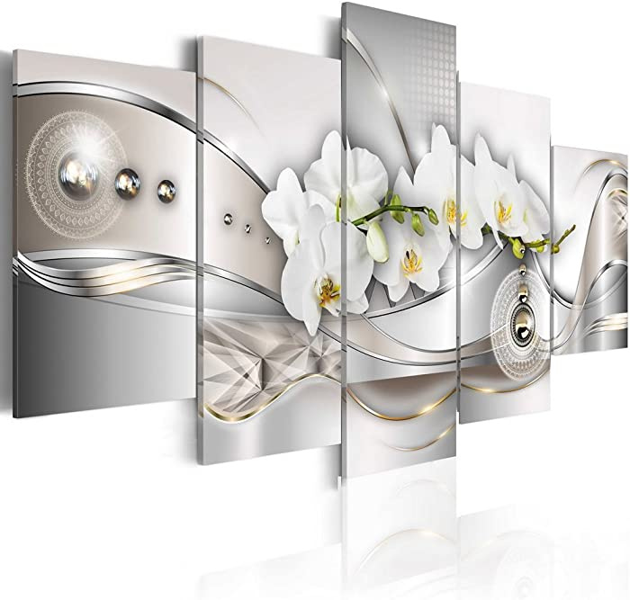 Top 10 Orchid Canvas Wall Decor