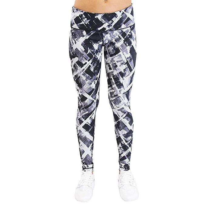 Darringls Pantalones Yoga Mujer,Polainas de Fitness Yoga para Mujeres Running Gym Stretch Sports Pants Pantalones Talla Grande Imprimir: Amazon.es: Ropa y ...