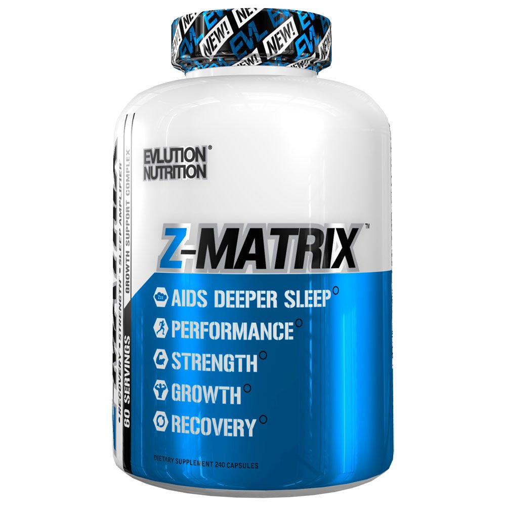 Evlution Nutrition Z Matrix Nighttime Recovery and Sleep Support (60 Serving)