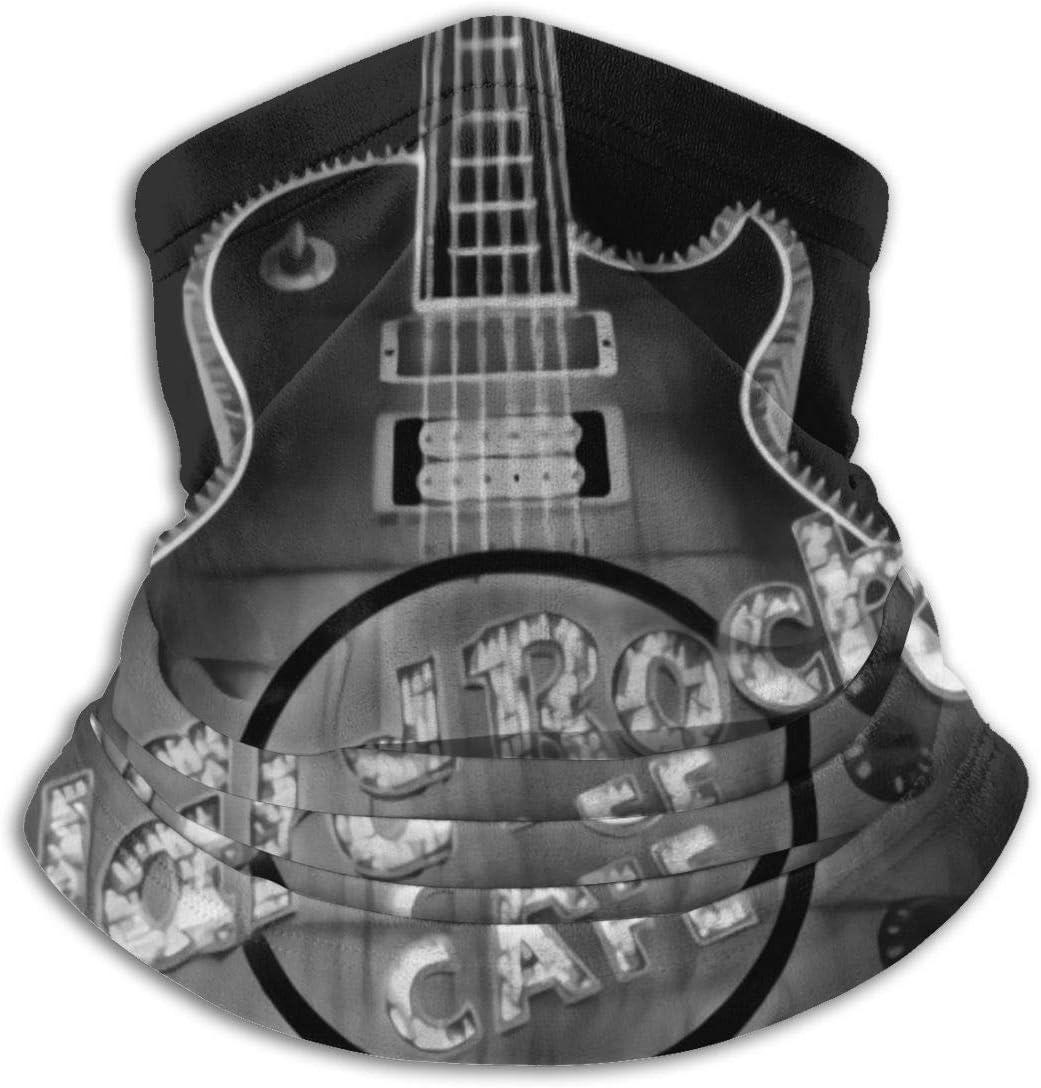 Hard Rock Cafe Las Vegas Schal Halsw/ärmer Weiche Mikrofaser Kopfbedeckung Gesichtsschal Gesichtsschutz