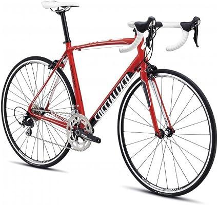 Specialized Rennrad Allez Comp - Bicicleta de Carretera (de 54 a 56 cm, de 55 a 57 cm), Color Rojo/Blanco/Negro ...