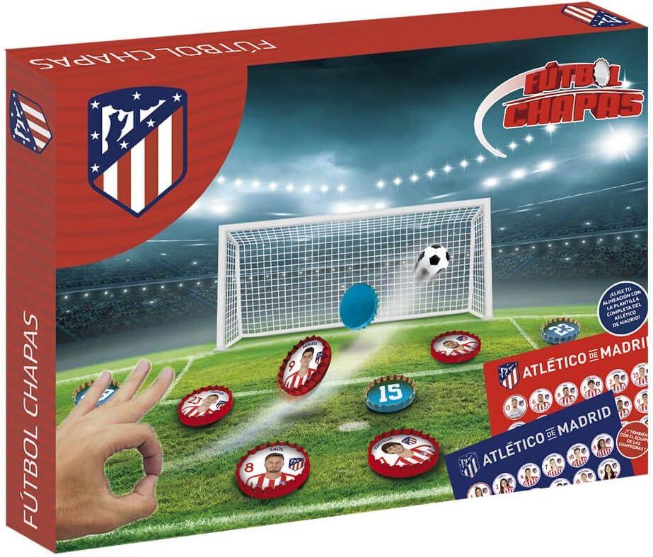 Eleven Force Fútbol Chapas Atlético de Madrid (13064): Amazon.es ...