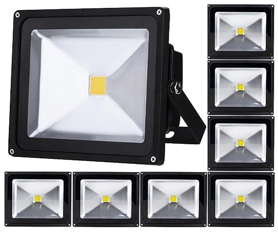 8pcs 50W LED Foco Proyector,ALPHA DIMA 50W LED Foco Proyector ...