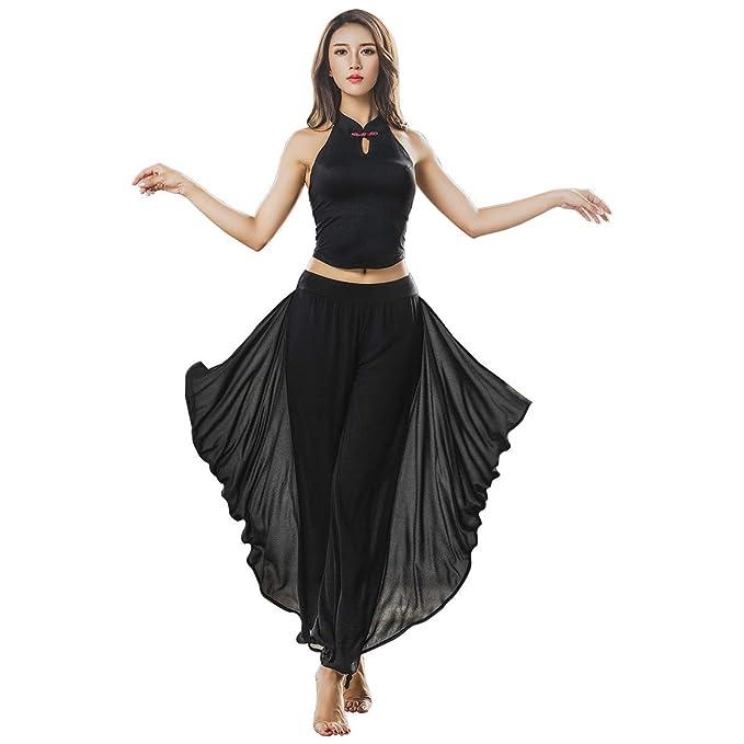 Amazon.com: KSUA Women Dance Yoga Clothes Elegant Aerial ...