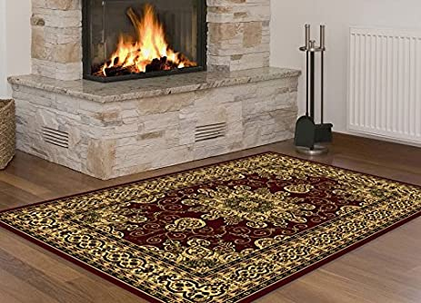 Amazoncom Traditional Area Rugs 8x10 Clearance and 5x7 Rugs for