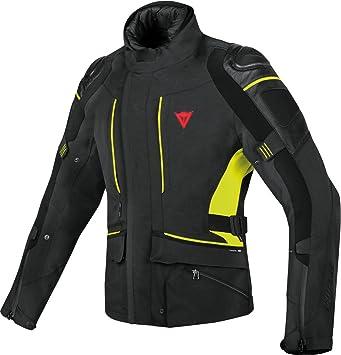 Chaqueta de moto Dainese D-Cyclone Gore-Tex impermeable para hombre 54 BLACK/BLACK/FLUO-YELLOW: Amazon.es: Coche y moto