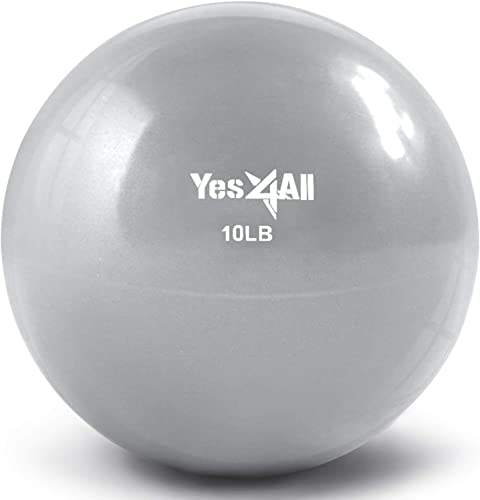 Yes4All Soft Weighted Toning Ball Medicine Ball