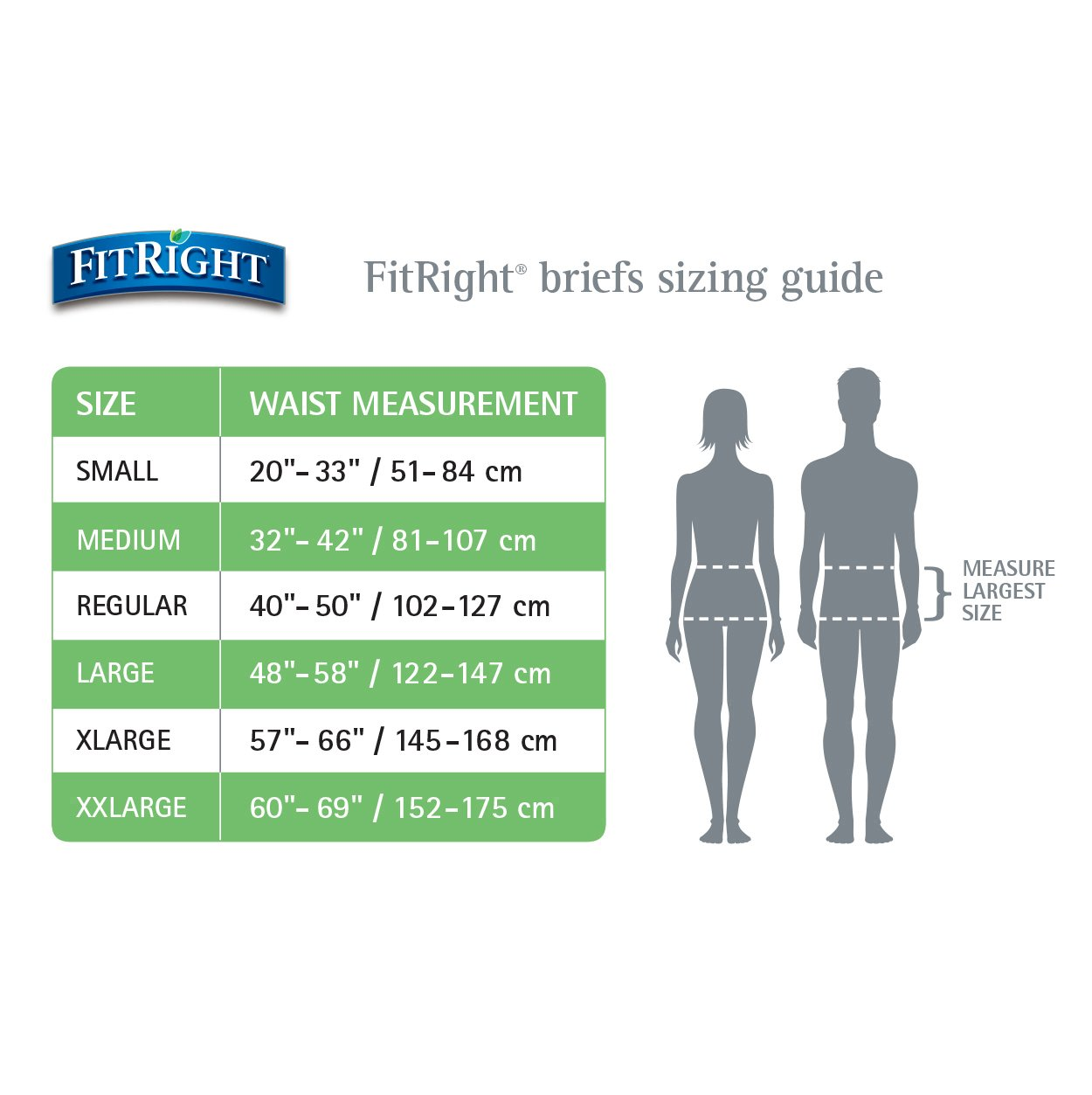 Amazon.com: Medline FitRight Extra Adult Briefs with Tabs, Moderate Absorbency, X-Large, 57