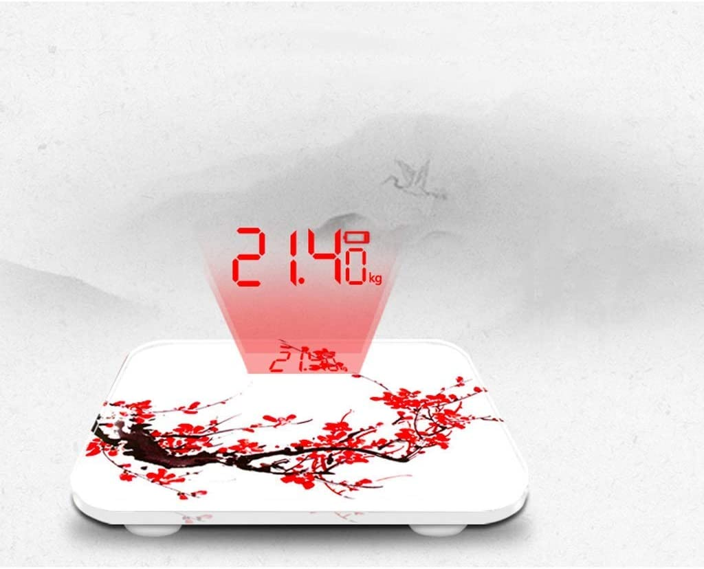 Giow Electronic scales,Household scales Weight loss (Color: Style B) A Style