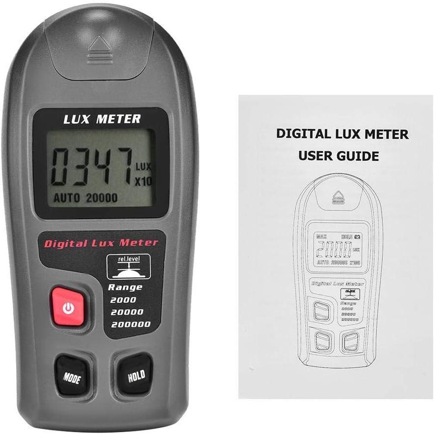 MT-30 Digital luxmeter Light meter Environmental test illuminometer with LCD display