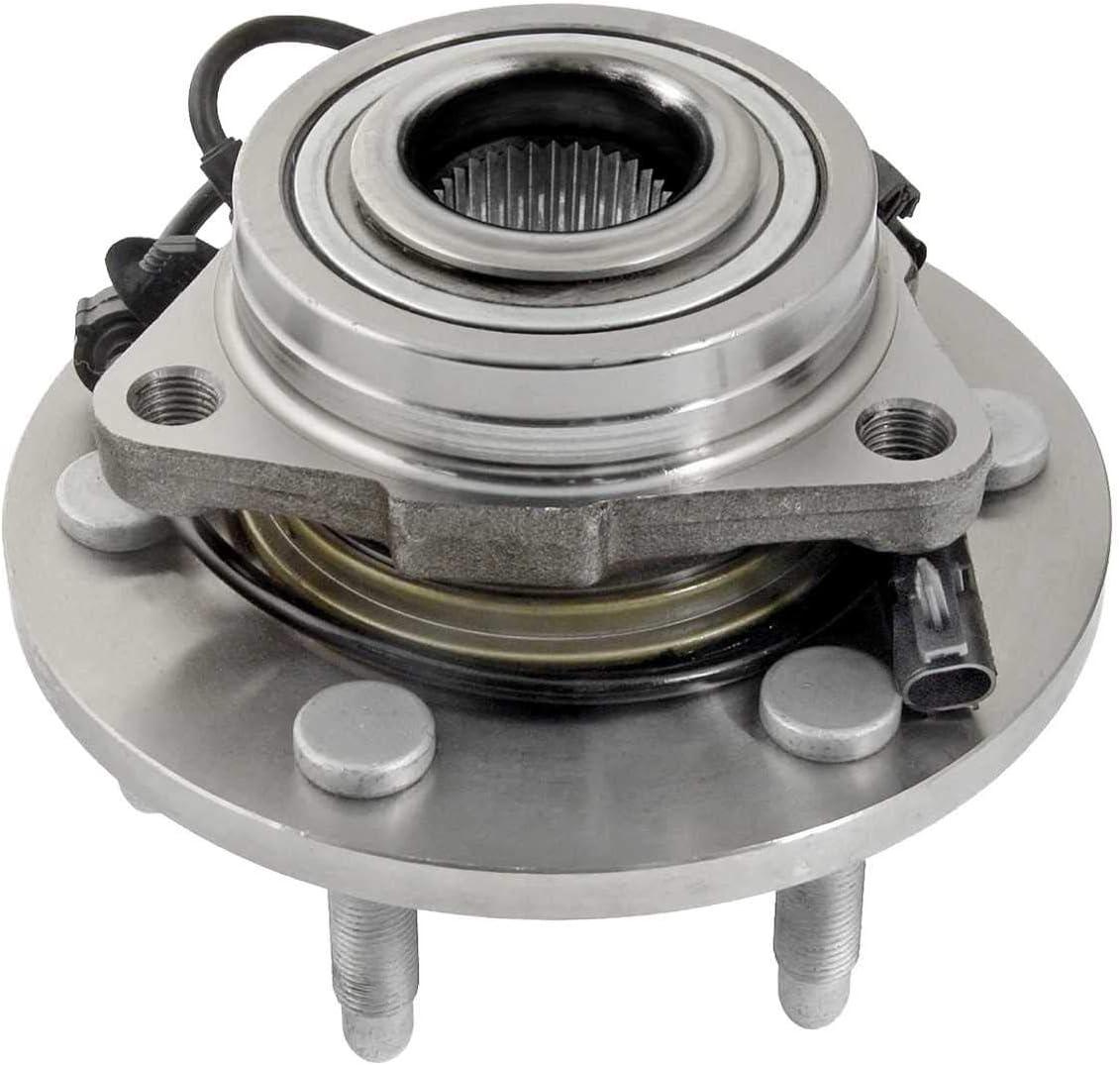 Auto Shack HB615162PR Front Wheel Hub Assembly Pair