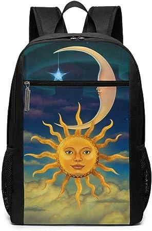 Sun Moon Stars - Mochila Unisex Multiusos para Llevar al ...