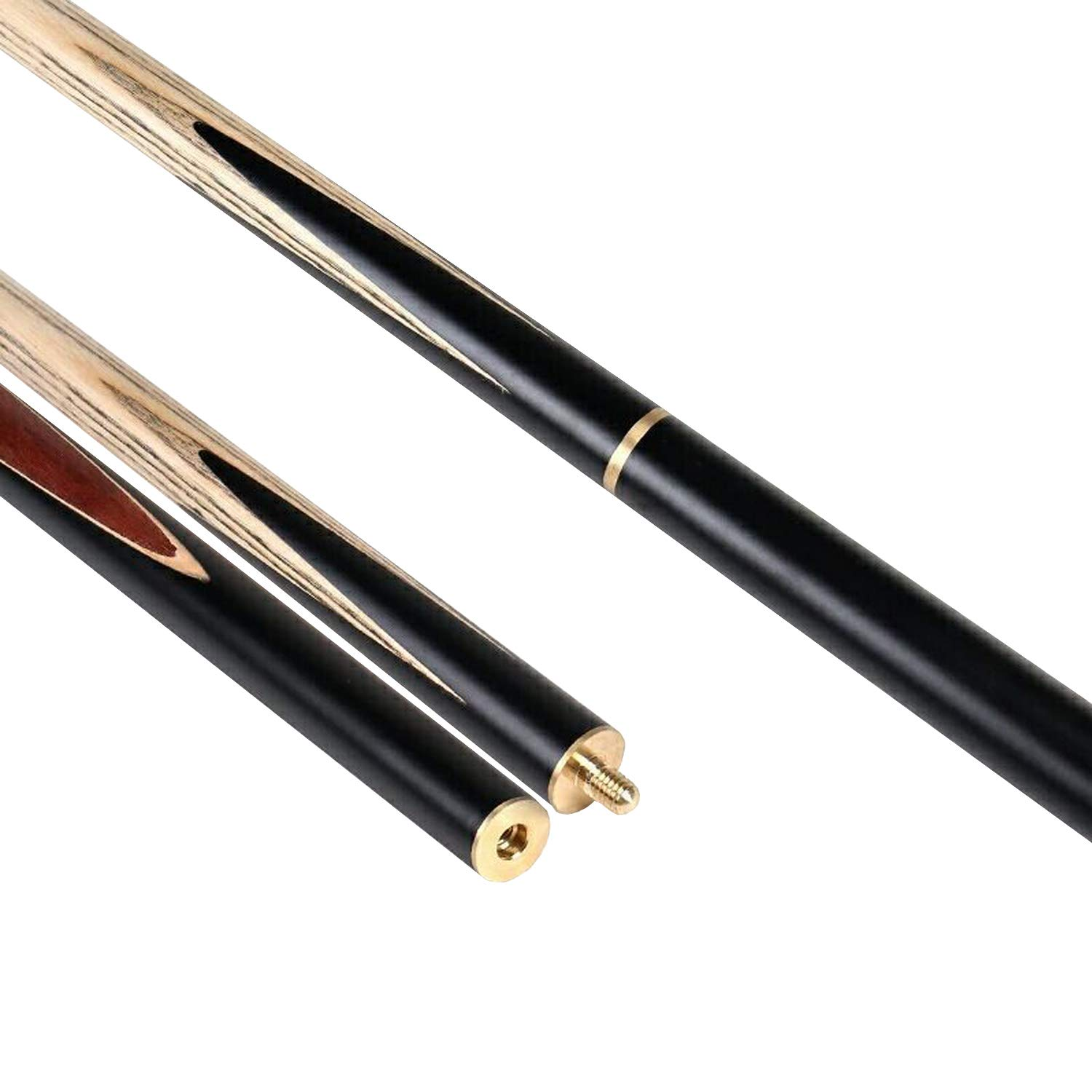AONETIGER Handmade Snooker Cue Tips 9.7mm 3//4 Jointed 2 Piece 19oz Ash Shaft Pool Billiards Stick