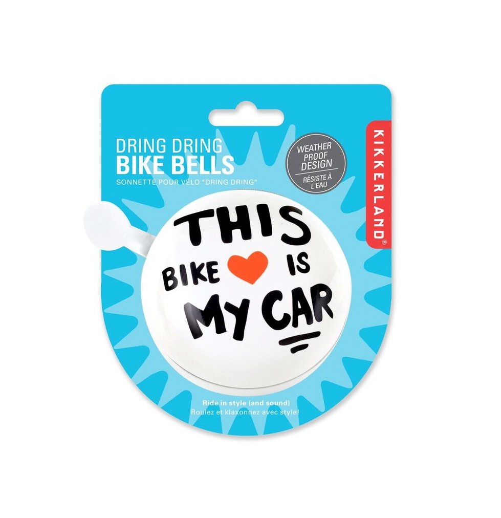 Kikkerland This Bike Is My Car Bell Sports Outdoors